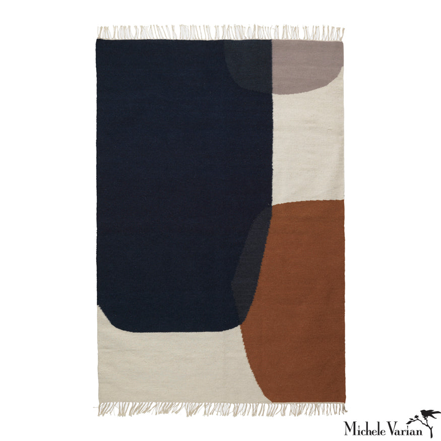 Abstract Shapes Rug