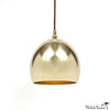 Brass Dome Pendant Lamp
