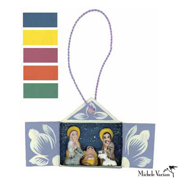 Mini Retablo Colored Ornament