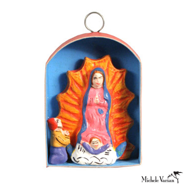 Mini Guadalupe Retablo Ornament