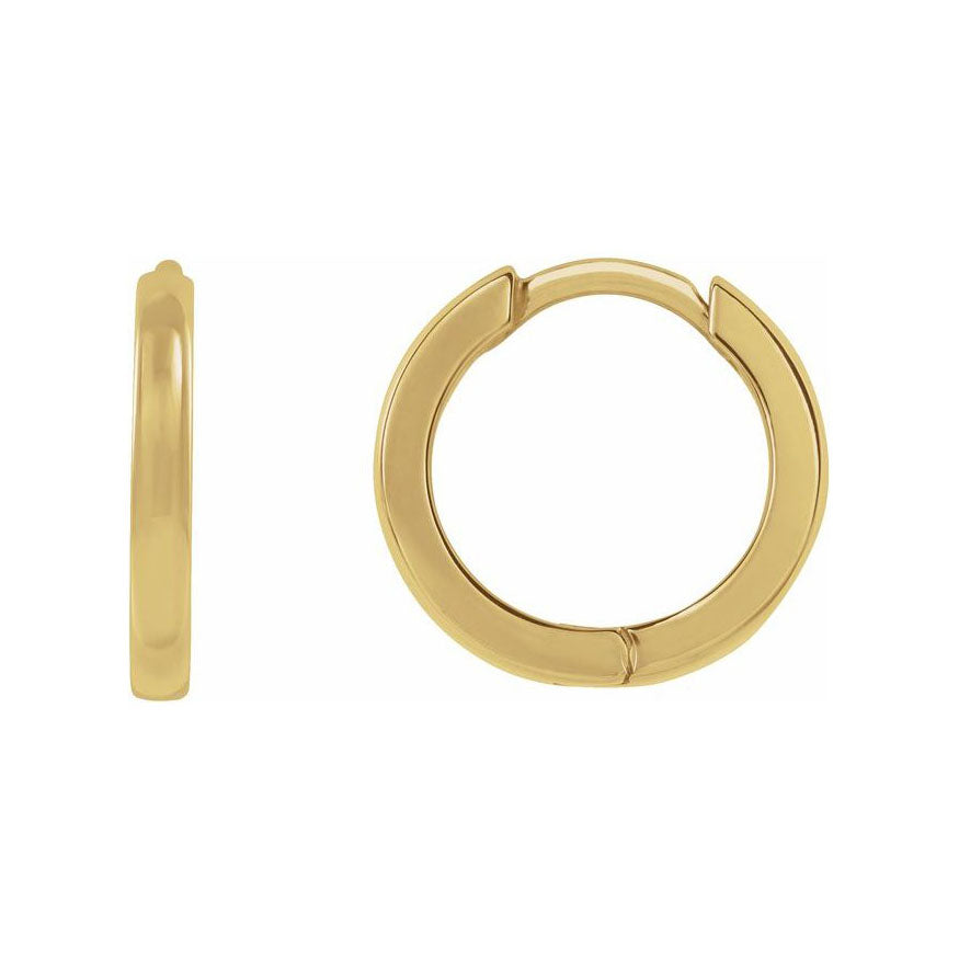Mini Gold Hoop