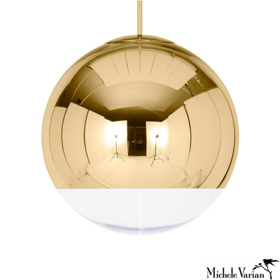 Mirror Ball Pendant Light Medium