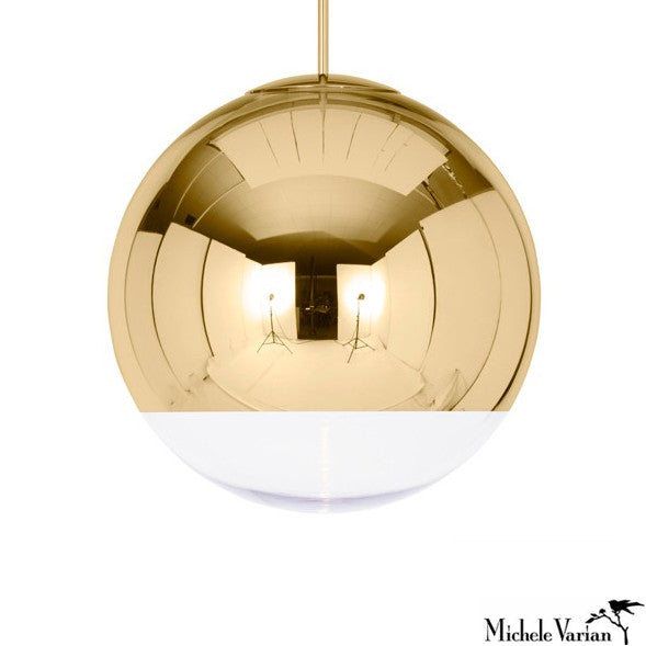 STOOP SALE Mirror Ball Pendant Light Small