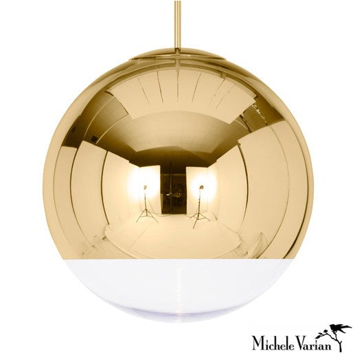 Mirror Ball Pendant Light Large