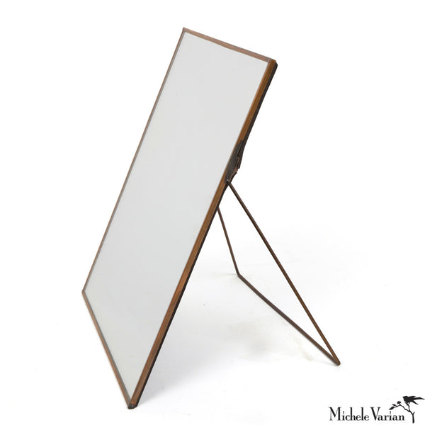 Copper Framed Mirror