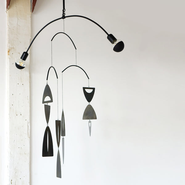 Mobile Eclipse Chandelier in Black