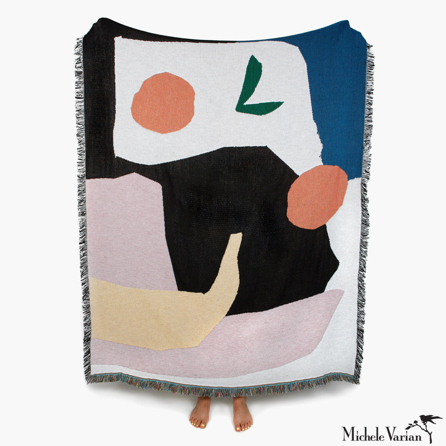 Abstract Picnic Patterned Blanket