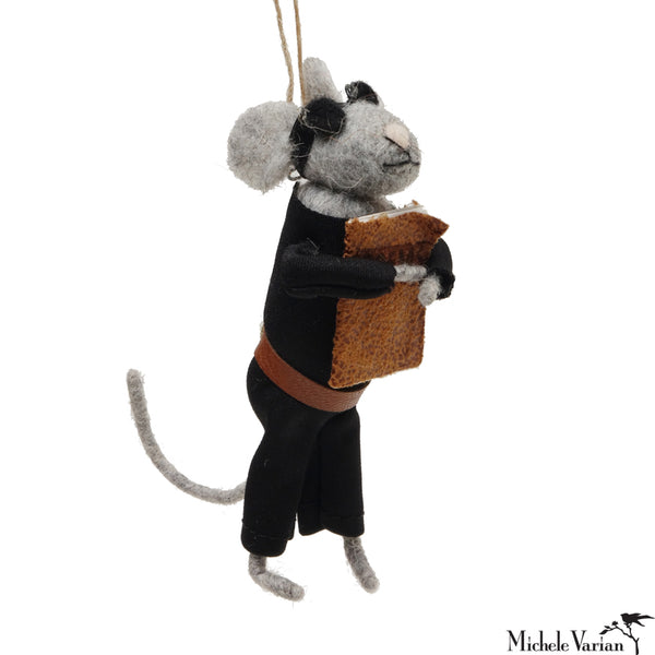 Beatnik Mouse Ornament