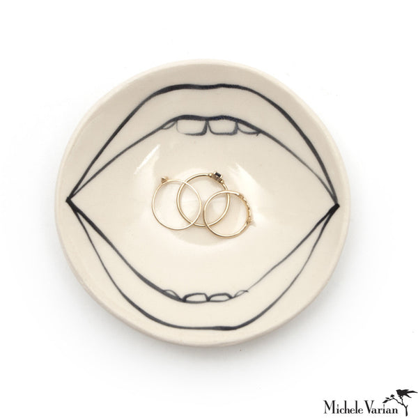 Ceramic Lips Dish