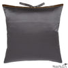 Silk Print Pillow Multi Spear Gray 20x20