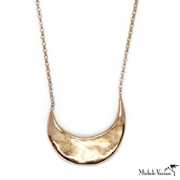 Muse Bronze Necklace