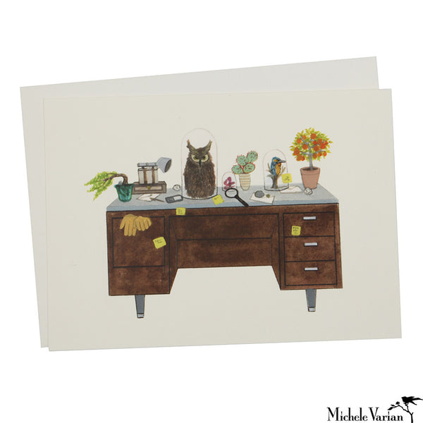 Naturalist Desk Card