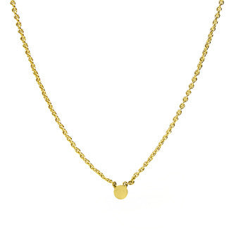 Itty Bitty Gold Dot Necklace
