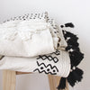 Nija Embroidered Cotton Throw