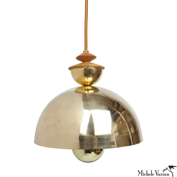 Mala Pendant Light No. 1 in Brass or Copper
