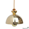 Mala Pendant Light No. 1 in Brass