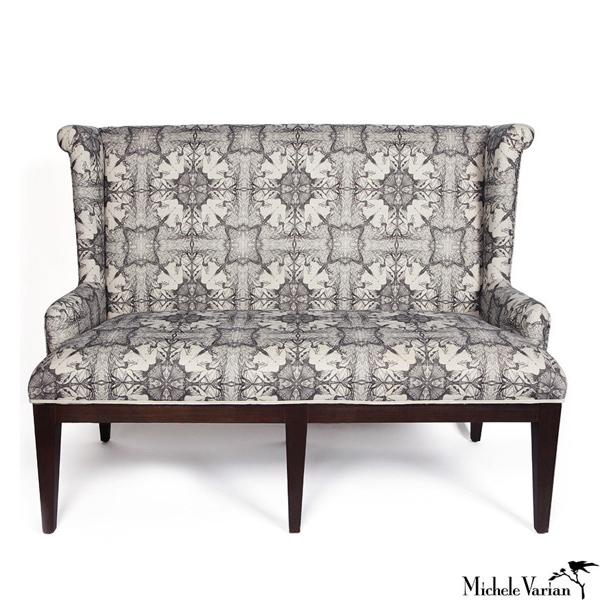 Nymph High Back Settee