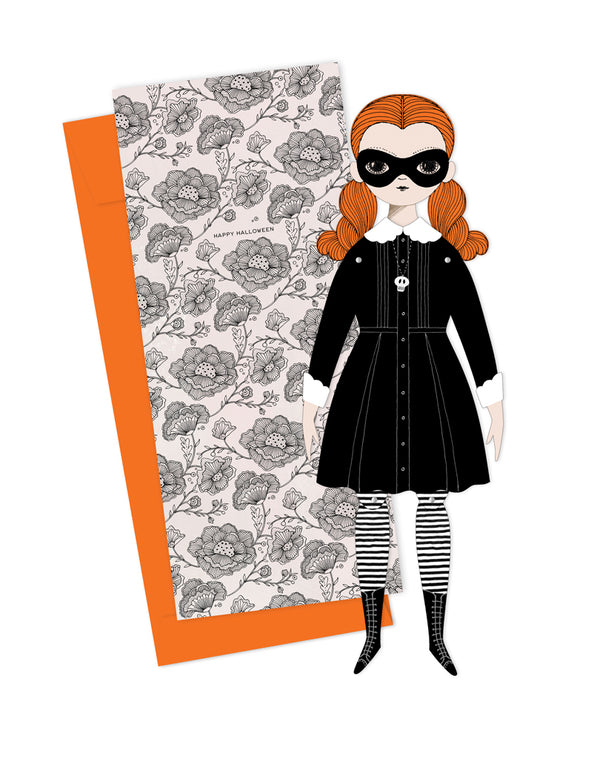 Wednesday Small Paper Doll