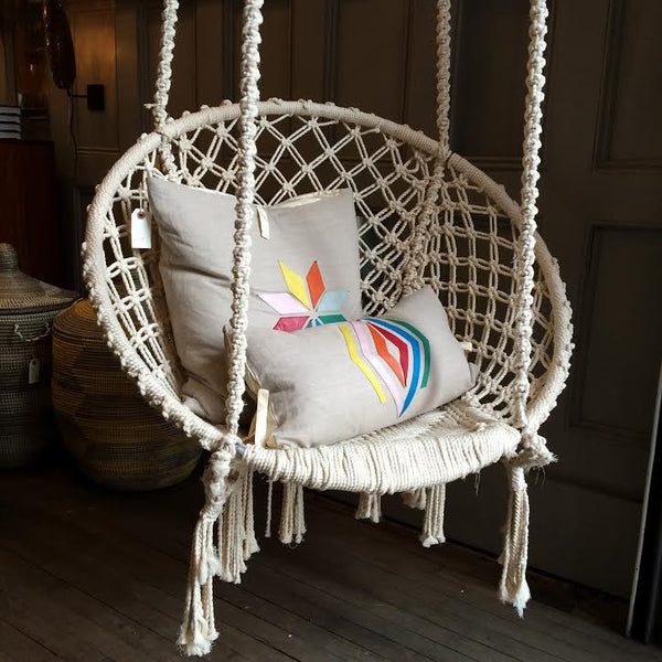 Recycled Fiber Swing Off White