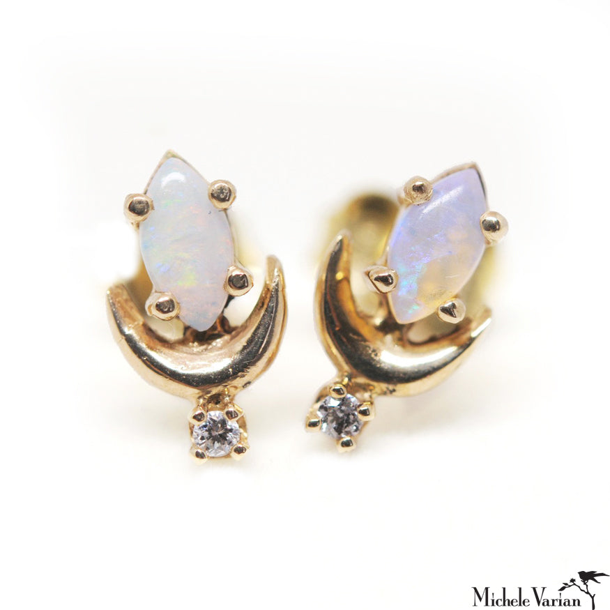 Opal Luna Earrings