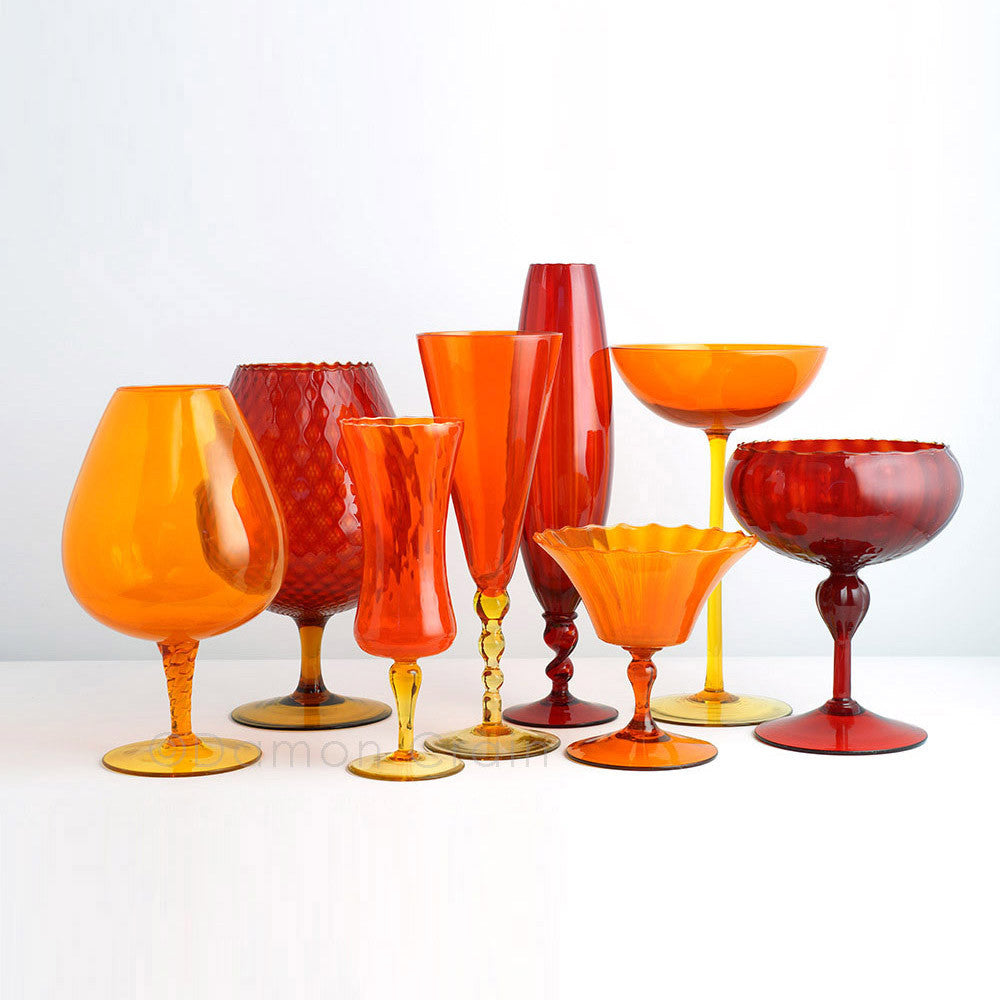 Empoli Glass Orange Group 1