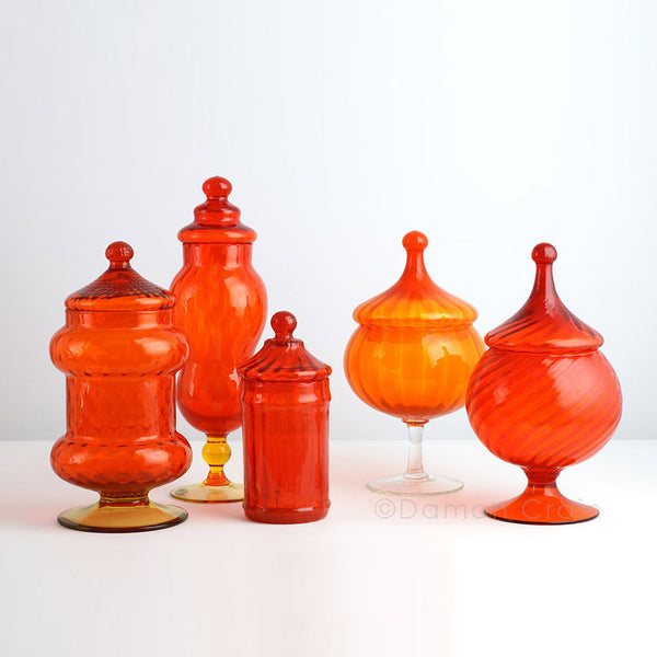 Empoli Glass Orange Group 2