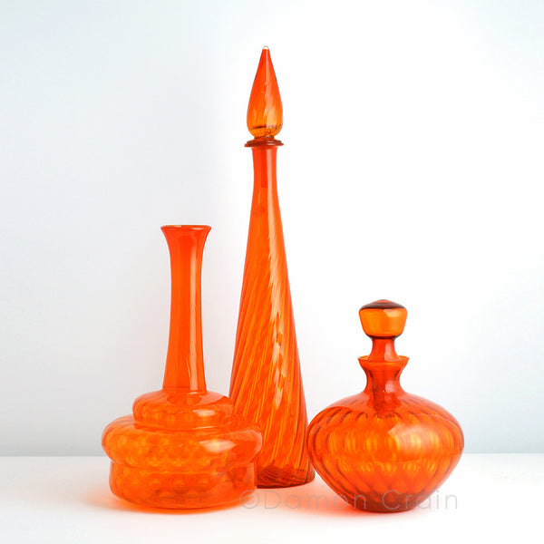 Empoli Glass Orange Group 3