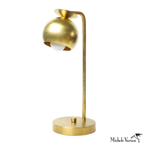 Brass Orbit Table Light