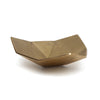 Brass Origami Bowl Medium Gold