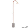 Copper Outdoor Shower