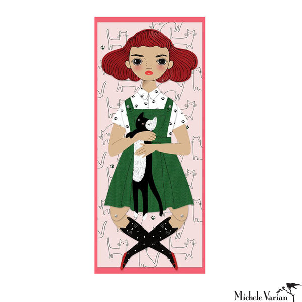 Penelope Paper Doll