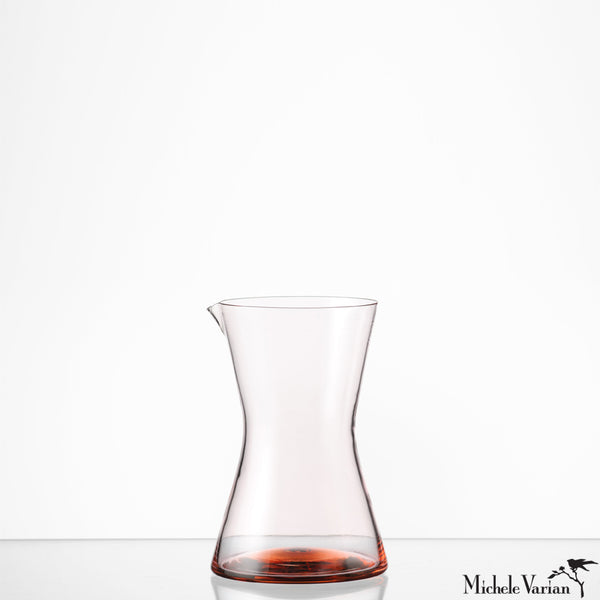 Cinch Glass Pitcher Apricot