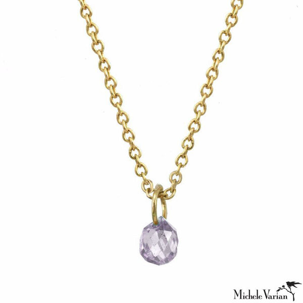 Pale Purple Sapphire Constellation Necklace