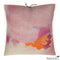 Printed Linen Pillow Pigment Rose 18x18