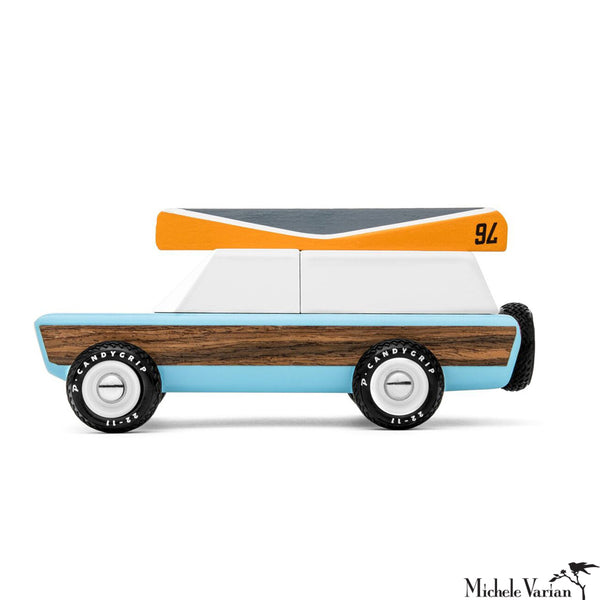 Pioneer Wooden Toy Car
