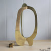 Organic Oval Brass Sculpture 9