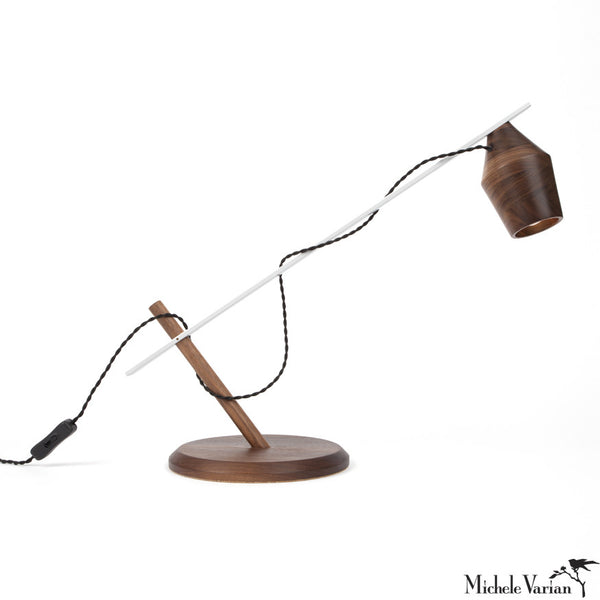 Magnetic Adjustable Desk Lamp Walnut