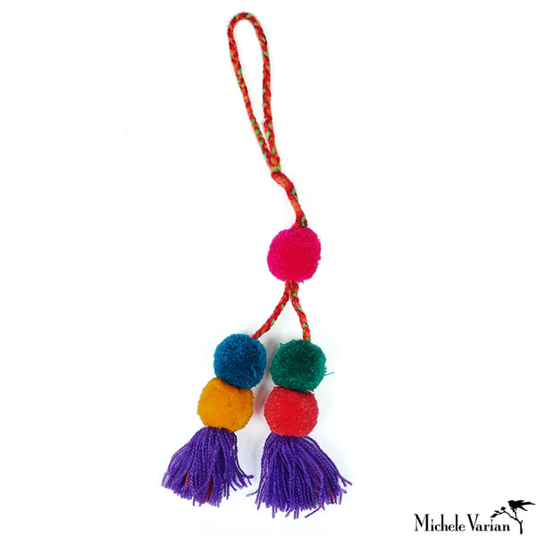 Colorful Pom Pom Tassle