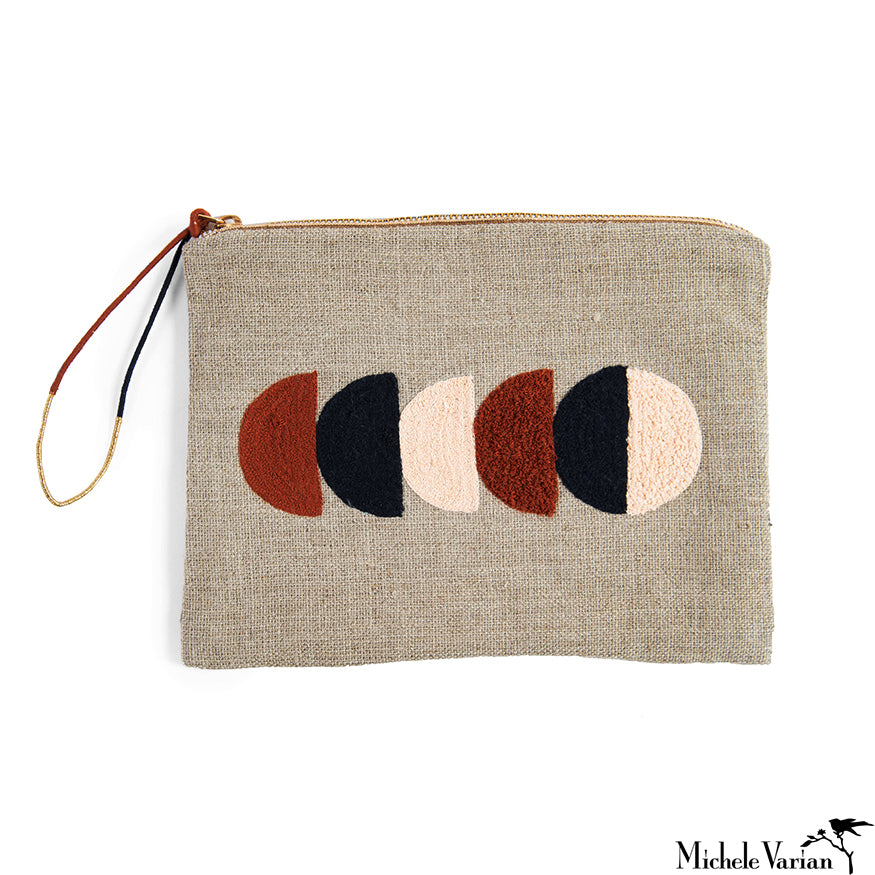 Large Linen Pouch Circe