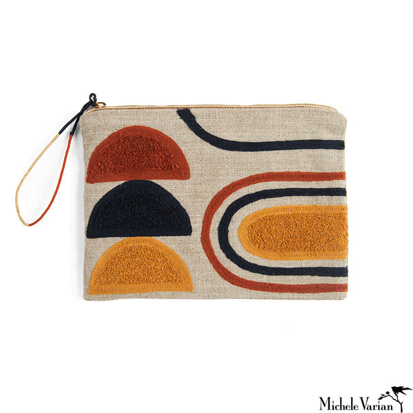 Large Linen Pouch Persephone