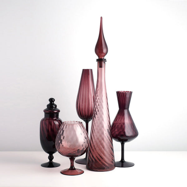 Empoli Glass Purple Group 5
