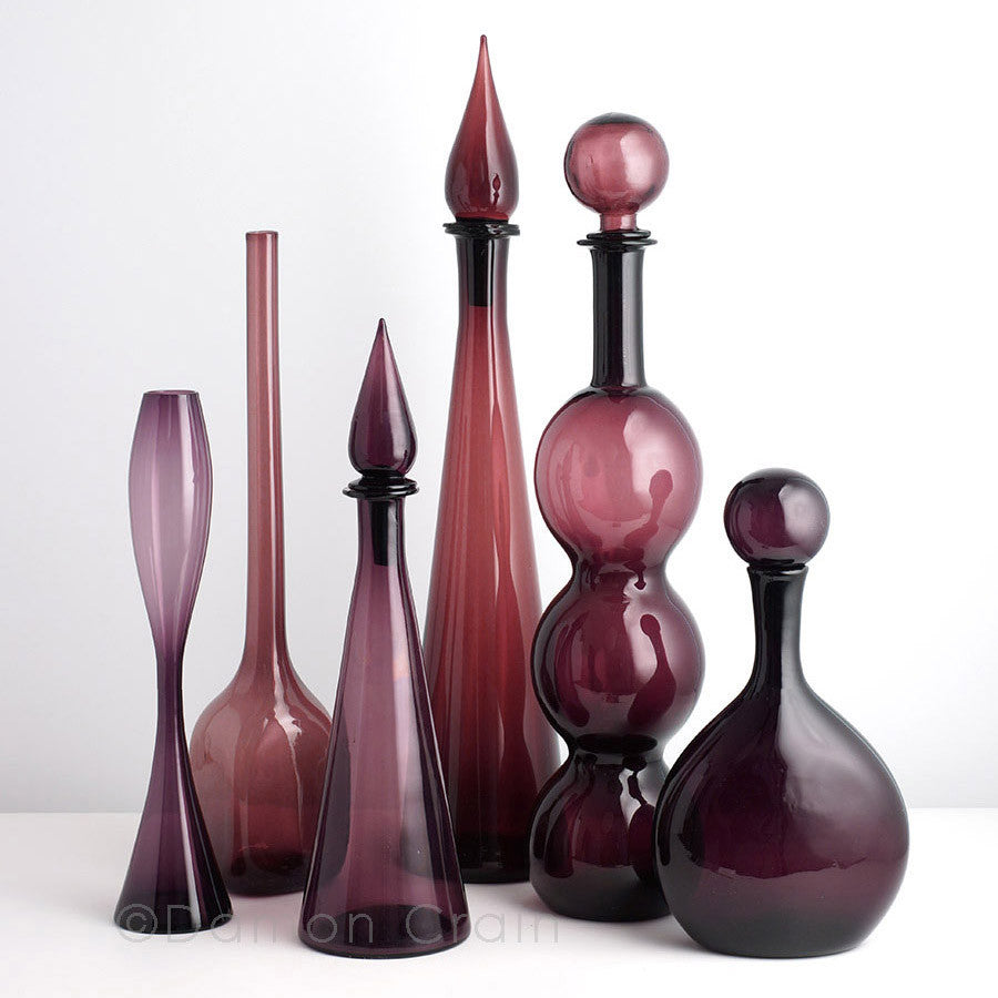 Empoli Glass Purple Group 6