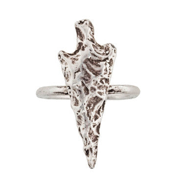 Silver Arrowhead Ring