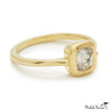 Rosecut Diamond Shape #4 Gold Ring