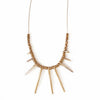 Brass Radiant Necklace