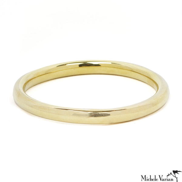 Brass Peace Bangle