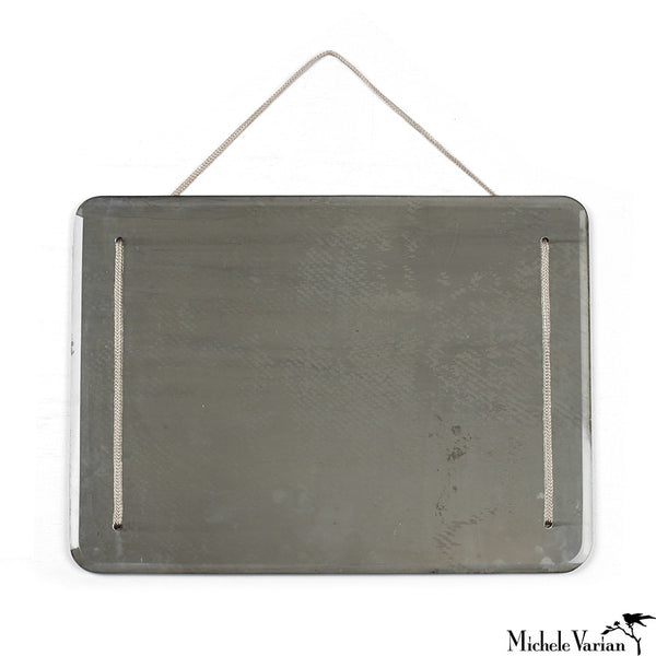 Rectangular Antique Finish Mirror