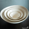 Matte Porcelain Serving Bowl White - Large