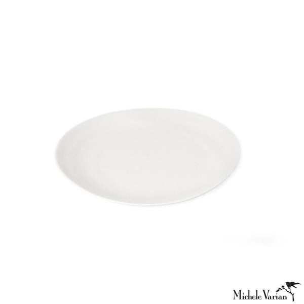 Matte Porcelain Side Plate White Set of 4