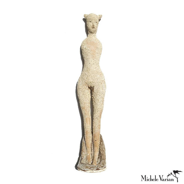 Elegant Totem Lady Sculpture 3